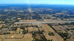 Aerial view of Ocala